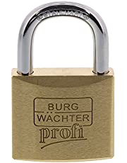 Burg-Wächter hangslot, Profi 116 40 SB, incl. 2 sleutels, beugeldikte: 6 mm