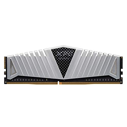 XPG Z1 DDR4 3200MHz (PC4 25600) 32GB (2x16GB) CL16-20-20 288-Pin Memory Modules Kit, Silver (AX4U3200716G16A-DSZ1) New Jersey