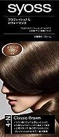 サイオス(syoss) ヘアカラー C4 クラシックブラウン 4-N 医薬部外品 クリームタイプのヘアカラー(おしゃれ染め) 女性用×36点セット (4987234360253)