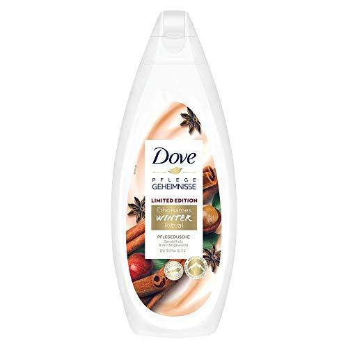 Dove Pflegegeheimnisse Duschgel Erholsames Winter Ritual (mit Sandelholz & Wintergewürzen für normale bis trockene Haut), 1 Stück ( 1 x 250 ml )