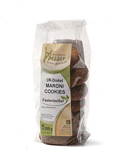 Maroni Mandel Cookies (Fastenbeißer) 200g Original nach Hildegard von Bingen