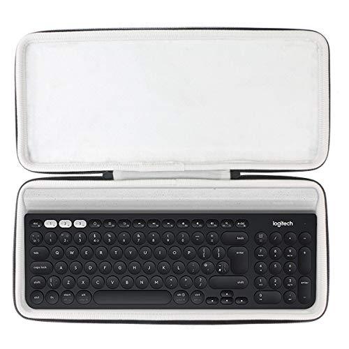 Khanka Hard Travel Case Replacement for Logitech K780 Multi-Device Wireless Keyboard