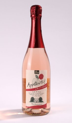 Clostermann Appléritif mit Rosen, alkoholfrei (750 ml) - Bio