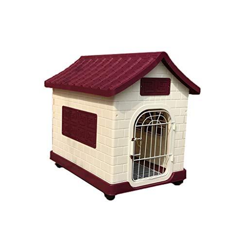 CWYSJ Mobile Hundehütte, Katze und Hund Villa Tiertoilette, Haustier Kisten, Sonnenschutz atmungsaktiv und strapazierfähig