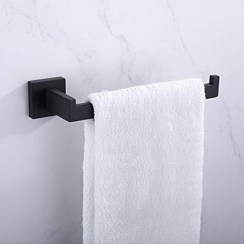 Toalla montada en la pared, gancho de ropa, soporte de toalla de papel, un solo polo, barra de toalla, conjunto de barras de toalla de acero inoxidable 304, baño Accesorios de cocina,Towel ring
