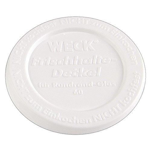 10x WECK-Frischhalte-Deckel RR60