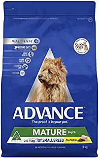Advance Adult and Senior Toy Breed Mature 3kg Dog Dry Food