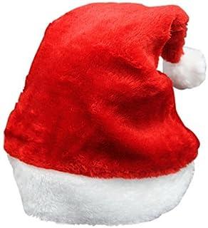 3f92c1f8a47 unicoco feliz Navidad sombrero fiesta suministros para adultos/de peluche  gorro de Papá Noel de