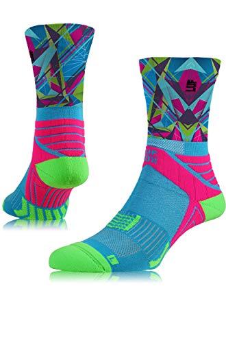LUF SOX Performance Crew Speed Trianna - Socken für Damen und Herren, Unisex-Größe 35-38, 39-42 und 43-47, funktionell, für Sport und Freizeit