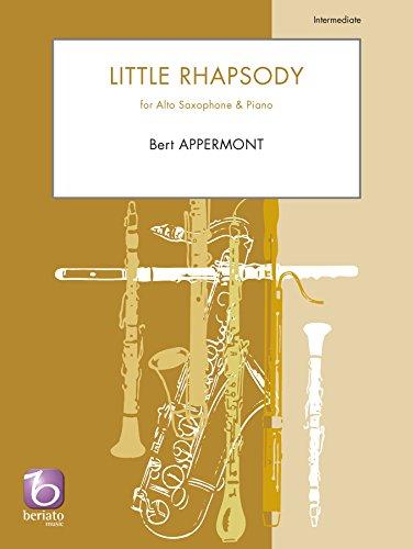 Little Rhapsody: For Eb Alto Saxophone & Piano