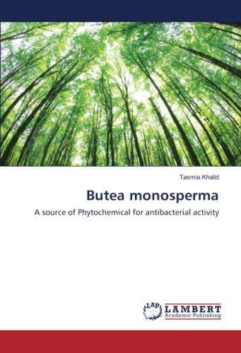 Butea monosperma: A source of Phytochemical for antibacterial activity
