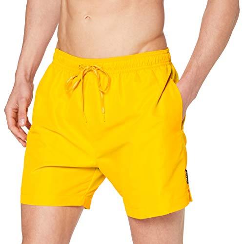 Calvin Klein Medium Drawsturkeying Shorts Nadar Turkeyunks, Gold Fusion, L para Hombre