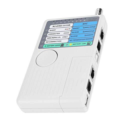 Netzwerk Kabeltester LAN Kabeltest 4-in-1Remote LAN Netzwerkmessgerät USB BNC für UTP STP, RJ11 RJ45 Kabelprüfgerät