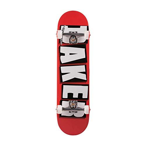 Baker Complete Brand Logo RED/WHT Skateboard 7.75