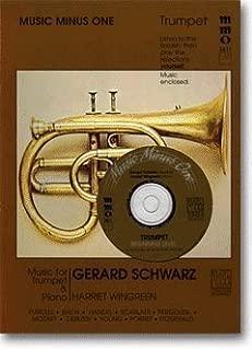Music Minus One Trumpet: Beginning Trumpet Solos, vol. I (Gerard Schwarz) (Sheet Music & CD) by Purcell, Henry, Lawton, S.M., Bach, Johann Sebastian, Fitzge (2011) Paperback