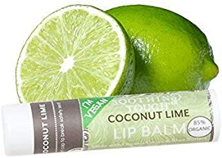 Soothing Touch Lip Balm - Organic Coconut Lime - Case of 12 - .25 oz by Soothing Touch
