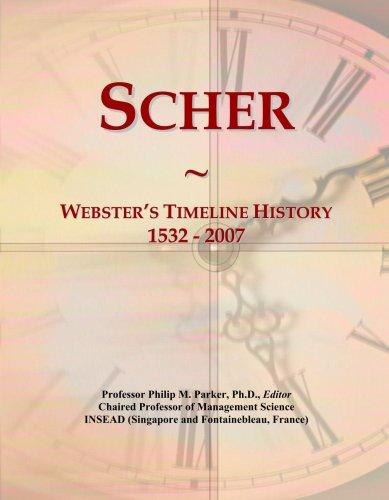 Scher: Webster's Timeline History, 1532 - 2007