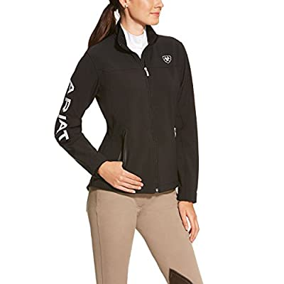 Ariat Women's New Team Softshell Jacket, Black, Medium
