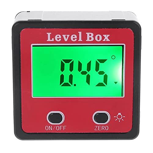 RYSF Inclinómetro Digital Medidor de Nivel Medidor de ángulo del transportador Caja de Nivel de inclinación con imán
