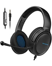 BINNUNE 2.4G/Bluetooth Wireless Gaming Headset with Microphone for PS4 PS5 Playstation 4 5, 48 Hours Playtime, PC Gamer Headphones with Mic