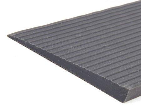 HomeCare Innovation | Gummi rampe für innen 100cm Breit | Schwellenrampe | Türschwellenrampe (10 x 100 x 1000 mm)