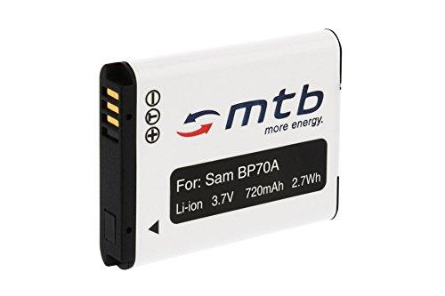 Ersatz-Akku EA-BP70A für Samsung PL20, PL21, PL80, PL81, PL90, PL91, PL100. (Siehe Liste)