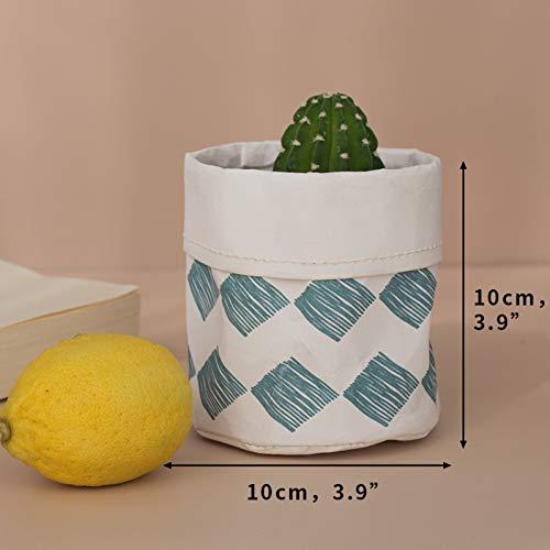 Bloempot Mantotto van kraftpapier, multifunctionele waterdichte deksel, make-uptas kan worden hergebruikt voor de emmer in de tuin als decoratie thuis.