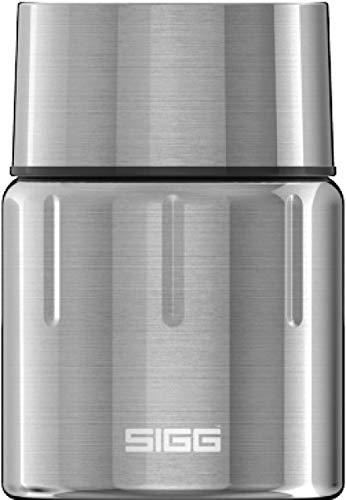 SIGG Gemstone Food Jar Selenite Fiambrera térmica para comida (0.5 L), termo aislante para oficina, colegio y excursiones, táper termo de acero inoxidable 18/8 de calidad