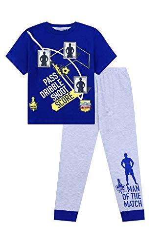 Loungewear aus 100/% Baumwolle Basketball The PyjamaFactory Schlafanzug f/ür Fu/ßball Rugby