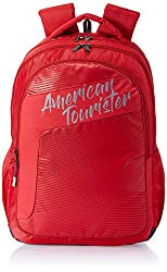 American Tourister Dazz 31 Ltrs Red Casual Backpack (FU5 (0) 00 001),Samsonite,FU5 (0) 00 001