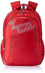 American Tourister Dazz 31 Ltrs Red Casual Backpack (FU5 (0) 00 001),Samsonite,FU5 (0) 00 001