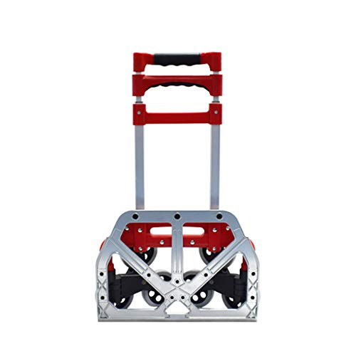 Schubkarren Klappwagen Aluminium Pritschenwagen Tragbarer Kletterwagen Einkaufswagen (50kg-150kg)