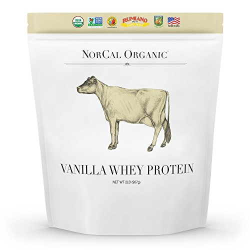 Natural Norcal Organic Grass Fed Whey Protein Powder (Vanilla)