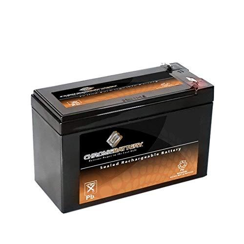 SLA Replacement Battery for 12V 7AH- SLA Battery Piranha MAX 160 Fish Finder- Chrome Battery