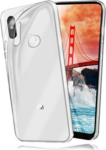 MoEx® AERO Hülle Transparente Handyhülle passend für Xiaomi Mi Mix 2S | Hülle Silikon Dünn - Handy Schutzhülle, Durchsichtig Klar