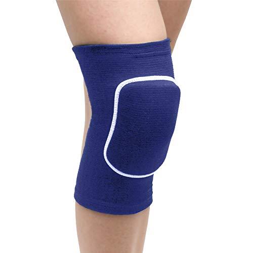 JJYHEHOT 2 Piezas de Protectores de Rodillera Deportivos Mangas de Compresión de Rodilla de Engrosada Suave para Voleibol Fútbol Baloncesto Baile Escalada Deportes