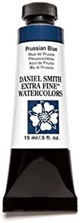 DANIEL SMITH Extra Fine Watercolor 15ml Paint Tube, Prussian Blue