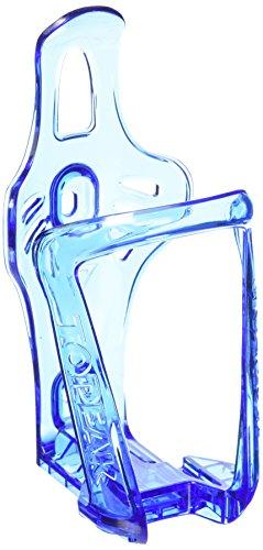 TOPEAK Mono Cage cX-Porte-bidon-Transparent avec Couvercle à charnière-Bleu