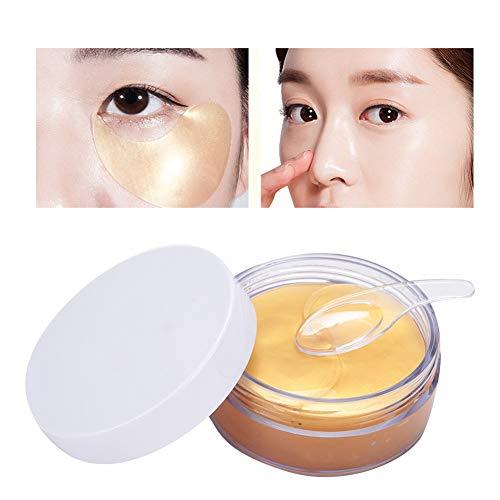 Gold-Kollagen-Augenmaske, Anti-Falten-Augenmasken, Anti-Aging, unter den Augen befeuchtend, dunkle Augenringe und Falten aufhellen.