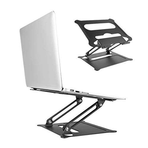 Fullstar Laptop Stand for Desk Ergonomic Aluminum Computer Stand Adjustable Notebook Stand with Thermal Vent Mount, Compatible with MacBook, Air, Pro, Dell XPS Laptop Others 10-17'(Silver)