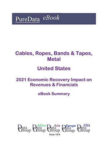 Cables, Ropes, Bands & Tapes, Metal United States Summary: 2021 Economic Recovery Impact on Revenues & Financials (English Edition)