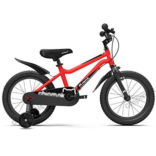JYetzxc Fahrräder Indoor-Fahrrad für Kinder Outdoor-Kinder Kinder Heimtrainer Dreirad für Kinder 3~12 Jahre Alter Roller (Farbe: A, Größe: 18 Zoll)