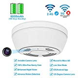 Hidden Camera WiFi Smoke Detector,FUVISION Nanny Cameras and...