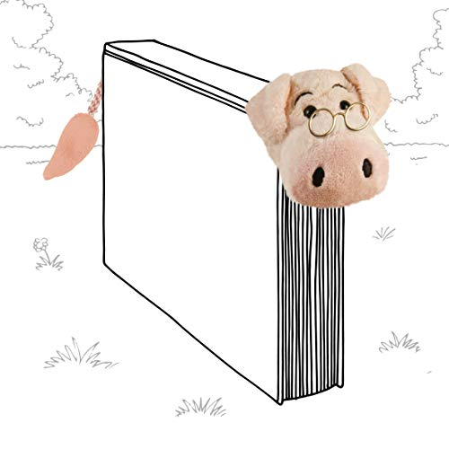 IF Book-Tails Bookmark - Pig