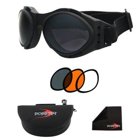 Zan Copricapo Bug Eye 2 occhiali intercambiabili, nome distintivo: nero, Genere: Uomo/Unisex, colore primario: nero BA2C31AC by Zanheadgear.