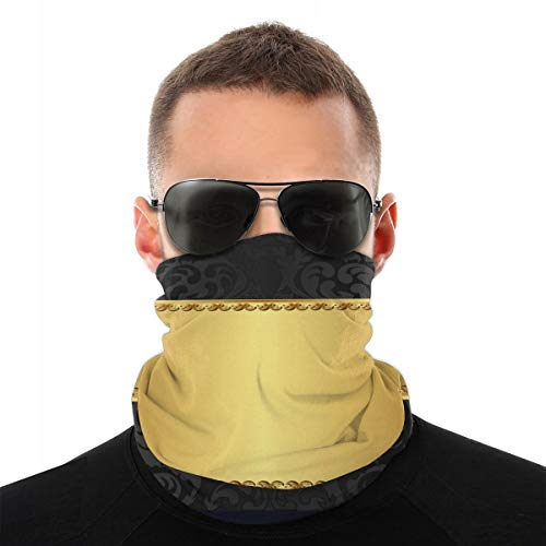 Geïsoleerde fantasie sjabloon zwart vogels op wit loopmasker turban soort magie naadloze sjaal outdoor masker voor dames en heren