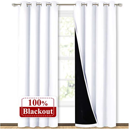 NICETOWN Full Shading Curtains for Windows, Super Heavy-Duty...