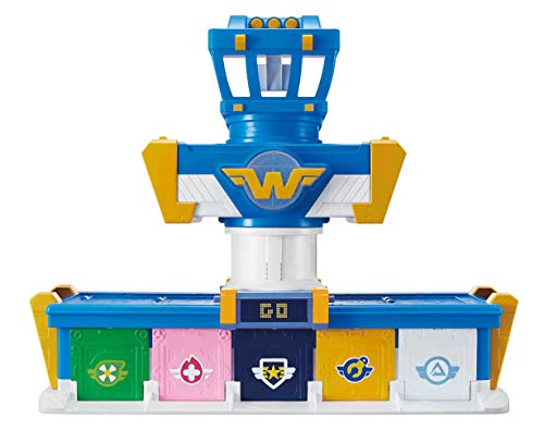 Super Wings EU730830 Missions Team Series 3 - vliegtuig - Bot - Airport Adventure speelset - 5,1 cm figuur, gemengd