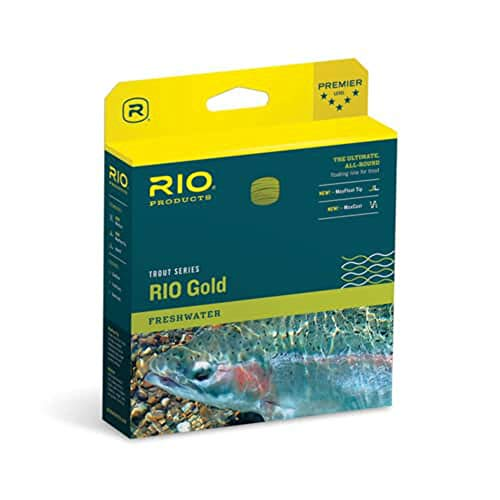 Rio Fly Fishing 6-21230 Gold Fly Line - Moss & Gold - 6