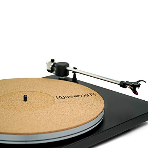 CoRkErY Recessed Turntable Platter Mat - Audiophile Anti-Static Slipmat -1-8' Recessed